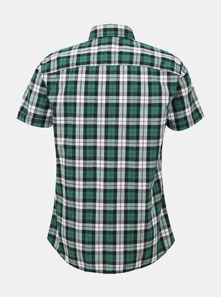 Zelená kostkovaná košile Jack & Jones Chad
