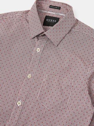 Světle růžová pánská košile Guess