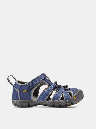 Modré detské sandále Keen Seacamp II CNX K
