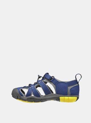 Modré dětské sandály Keen Seacamp II CNX Jr
