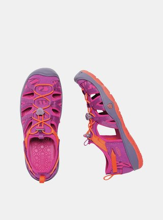 Růžové holčičí sandály Keen Moxie JR
