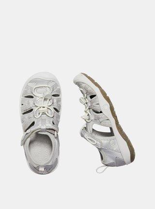 Svetlošedé dievčenské sandále Keen Moxie K