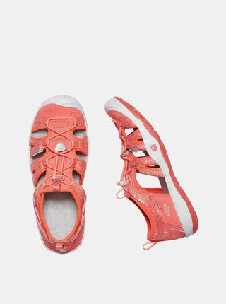 Koralové dievčenské sandále Keen Moxie  C