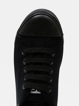 Čierne chlapčenské tenisky 3F