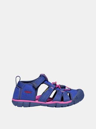 Růžovo-modré holčičí sandály Keen Seacamp II CNX Y