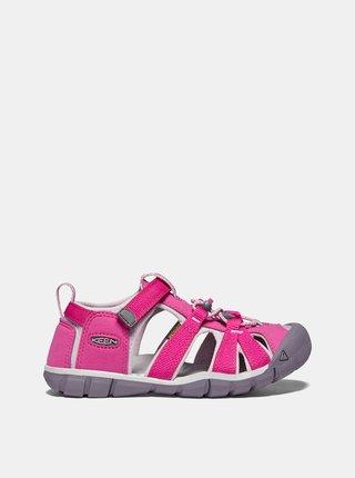Růžové holčičí sandály Keen Seacamp II CNX Y