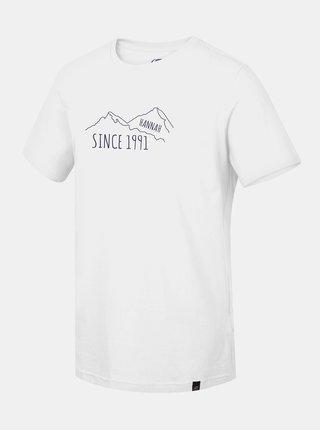 Bílé pánské tričko s potiskem Hannah Matar