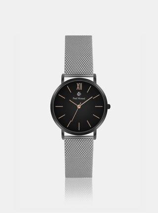Dámské hodinky s nerezovým páskem ve stříbrné barvě Paul McNeal