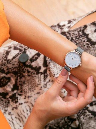 Dámske hodinky s nerezovým remmienkom v striebornej farbe Annie Rosewood