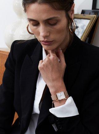 Dámské hodinky s nerezovým páskem v růžovozlaté barvě Rosefield
