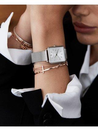 Dámske hodinky s nerezovým remienkom v striebornej farbe Rosefield
