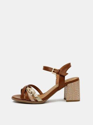 Hnědé dámské sandálky Wrangler