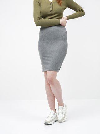 Šedá basic sukňa ZOOT Baseline Pavla