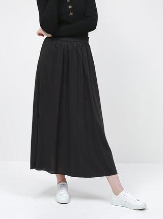 Čierna maxi sukňa ONLY Venedig