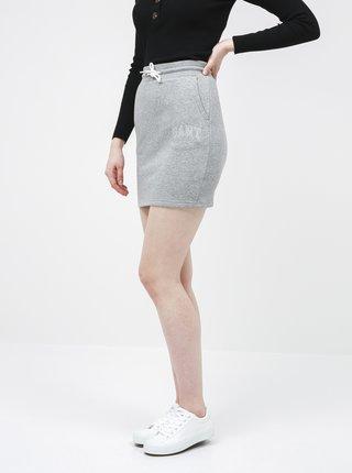 Šedá basic sukně GANT