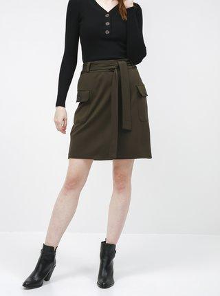 Khaki sukně Dorothy Perkins
