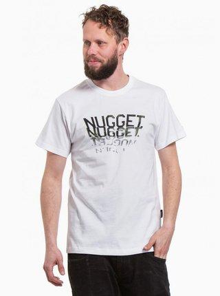 Biele pánske tričko NUGGET Biscuit