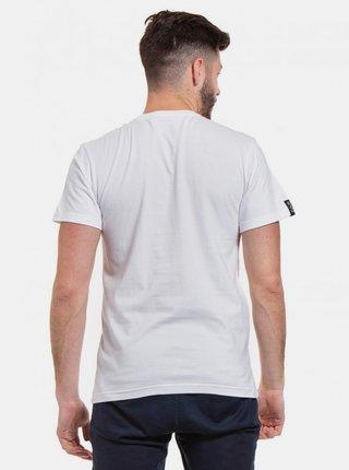 Biele pánske tričko s potlačou Meatfly