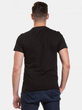 Černé pánské tričko s potiskem Meatfly