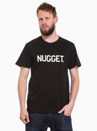 Čierne pánske tričko NUGGET Logo 20