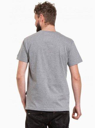 Šedé pánské tričko NUGGET Logo 20