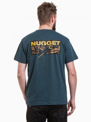 Tmavomodré pánske tričko NUGGET Fulcrum