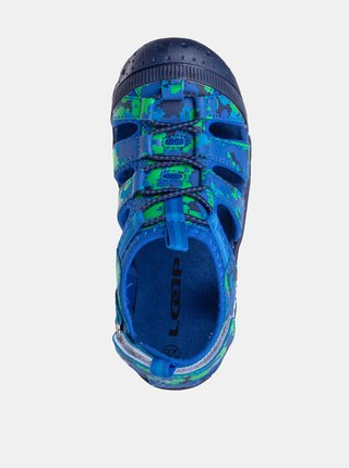 Modré chlapčenské sandále LOAP Dopey