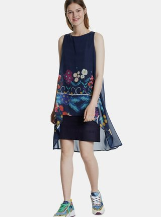 Tmavě modré šaty Desigual