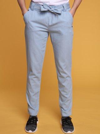 Světle modré dámské kalhoty LOAP Nely
