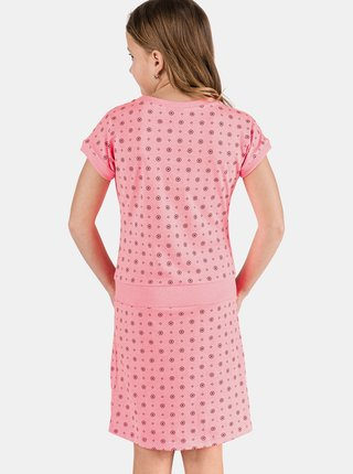Ružové dievčenské šaty SAM 73