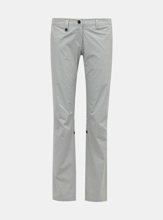 Svetlošedé dámske funkčné nohavice Hannah Berenika