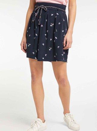 Tmavě modrá vzorovaná sukně Ragwear Debbie