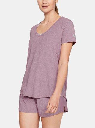 Fialové dámské pyžamové tričko Recovery Under Armour