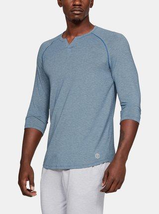 Modré pánské pyžamové tričko Recovery Under Armour