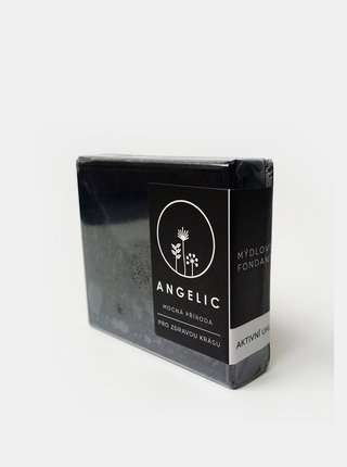 Mýdlo s aktivním uhlím 105 g Angelic