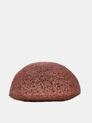 Konjaková houbička pro suchou a citlivou pleť - růžový jíl Kongy