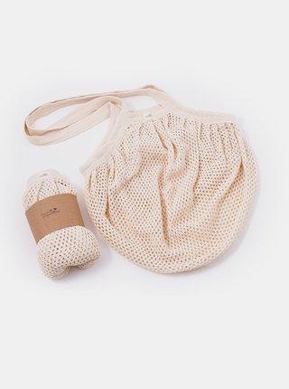 Síťovinová taška s drobnými oky - natural Casa Organica