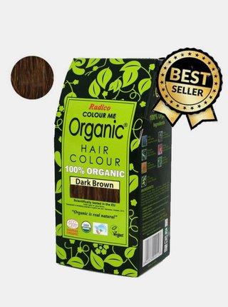 Přírodní barva na vlasy BIO - tmavě hnědá 100 g Radico