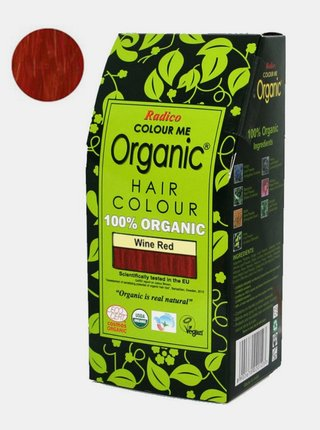 Přírodní barva na vlasy BIO - vínová 100 g Radico