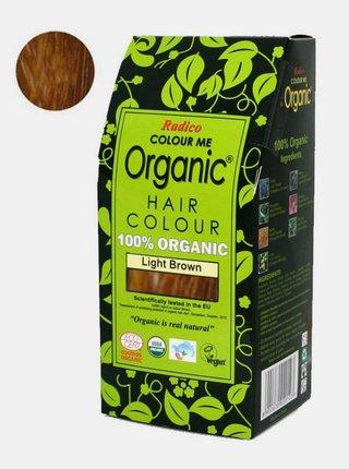 Přírodní barva na vlasy BIO - světle hnědá 100 g Radico