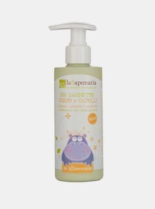 Jemný tělový a vlasový mycí gel pro děti BIO 190 ml laSaponaria