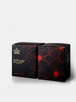 Vonná svíčka v černém skle - květ darjeelingu 170 g The Greatest Candle In The World