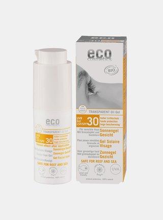 Opalovací transparentní gel na obličej SPF 30 30 ml Eco Cosmetics