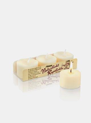 Sada třech malých svíček - bez vůně Stuwa