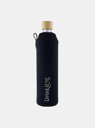 Skleněná láhev v neoprenovém obalu Drinkit Asketa 500 ml