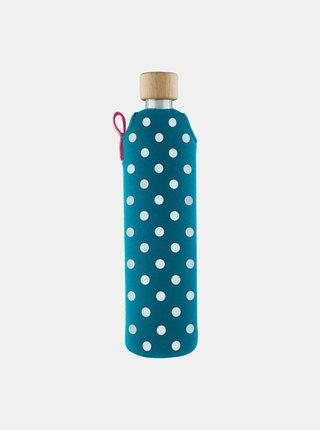 Skleněná láhev v neoprenovém obalu Drinkit Lentilka 500 ml