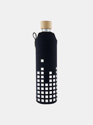 Skleněná láhev v neoprenovém obalu Drinkit Equalizer 500 ml
