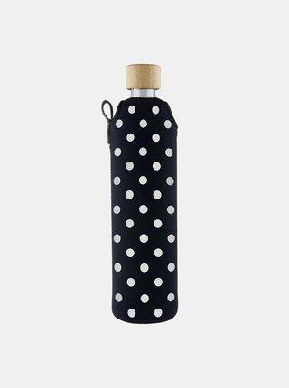 Sklenená fľaša v neoprénovom obale Drinkit Puntík 500 ml