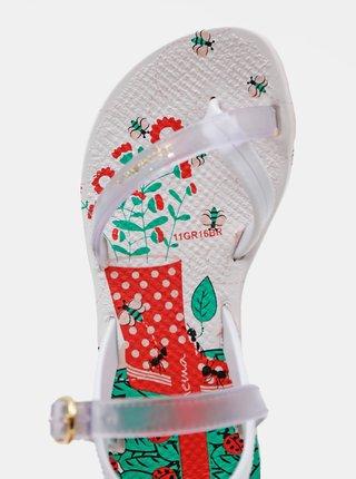 Biele dievčenské sandále Ipanema