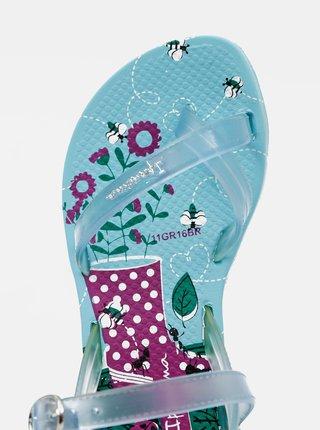 Modré holčičí sandály Ipanema